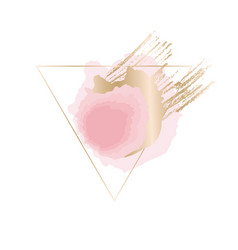 abstract elegant hand drawn design element vector image