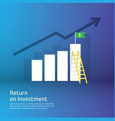 Business concept achievement goal success flag vector