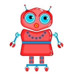 Cartoon cute robot vector