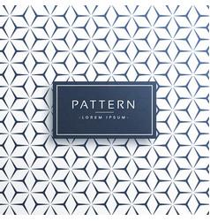 Clean minimal geometric pattern background vector
