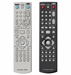 dvd remote control vector image
