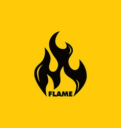 Fire burn theme vector