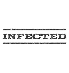 Infected Watermark Stamp vector