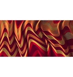 Moving colorful lines of abstract background vector image