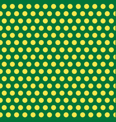 polka dots green and yellow abstract seamless vector image