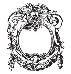 Printers-mark typographical frame was designed in vector