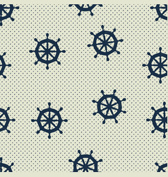 Seamless pattern wheels and polka dot vector