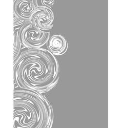 Invitation Swirling hand drawn drawing vector image