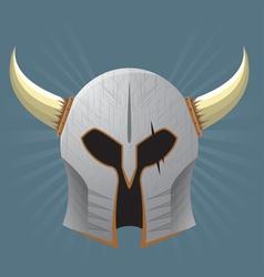 Warrior Helmet vector image vector image