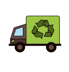 recyclable icon image vector image vector image