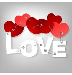 09 pinned heart vector