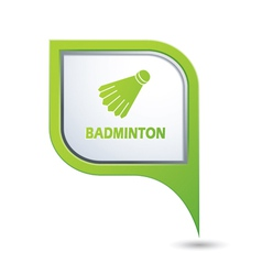 Badminton2 GREENpointer vector