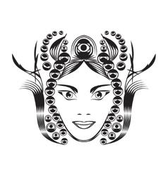 Fantasy woman vector image