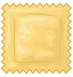italian ravioli pasta vector image