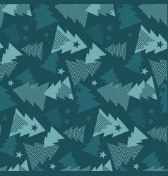 maars green color christmas textile vector image vector image