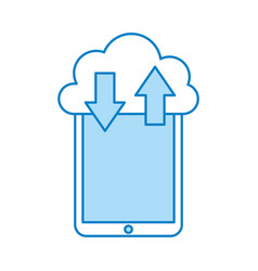 Smartphone device with cloud computing vector