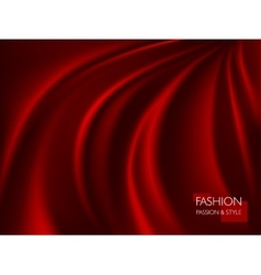 Smooth elegant luxury red vector