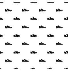 Soccer shoe pattern vector