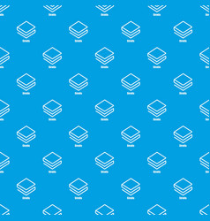 Stratis pattern seamless blue vector