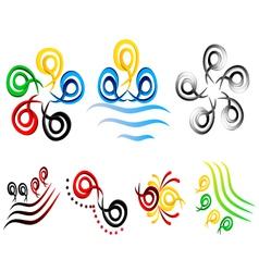 design element business logo vector image