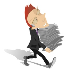 Businessman or a manager vector image