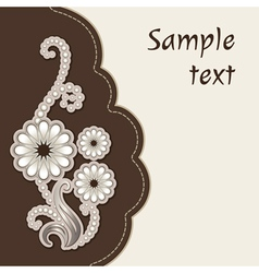 Decorative cover vector