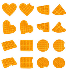 icon logo for set various sweet vector image