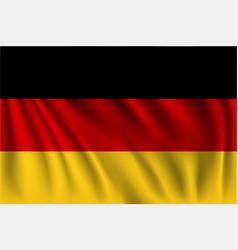 Waving germany vector