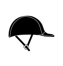 Worker helmet equipment vector image