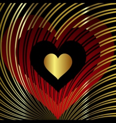 valentine square vector image