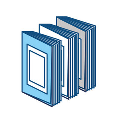 Books and education symbol vector