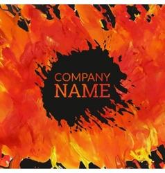 Corporate identity template in art stiyle vector