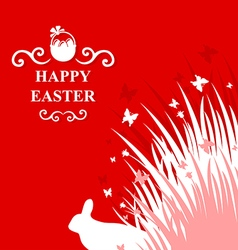 hare card vector image