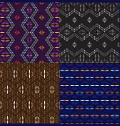 Indonesia modern batik pattern seamless vector