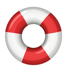 Life saver icon vector