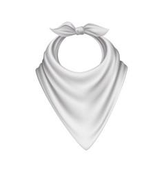 neckerchief realistic vector image