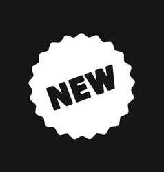 New tag icon vector