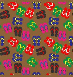 sandalpattern vector image