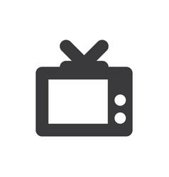 television icon vector image