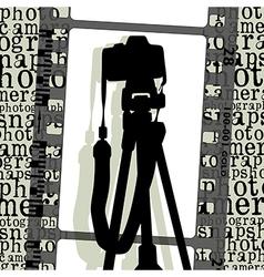 poto camera vector image vector image