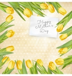 Mothers day poster eps 10 vector