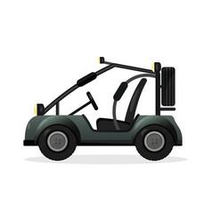 Off road buggy car design element vector