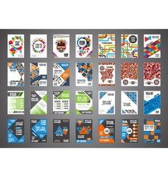 346brochure set vector