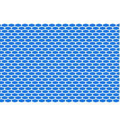 abstract pattern white net on blue vector image