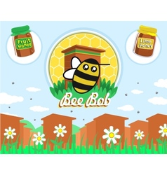 Bee Bob vector