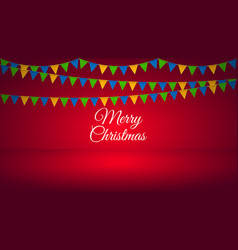 bright holiday background vector image