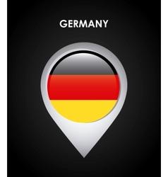 Germany flag vector