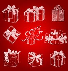 Gift box2 vector