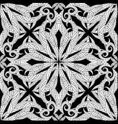 intricate distressed seamless pattern vector image