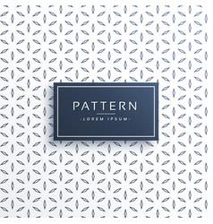 minimal flower pattern background vector image